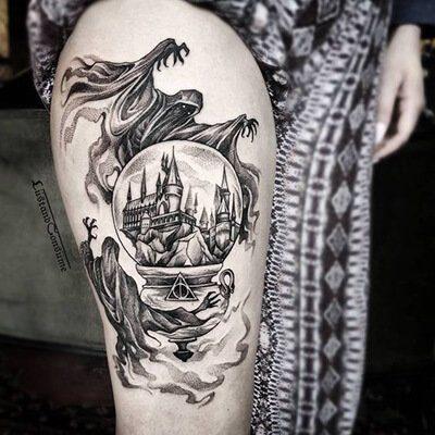Harry Potter Dementor Tattoo