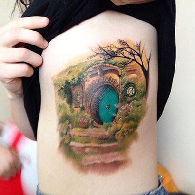 Hobbit House Tattoo