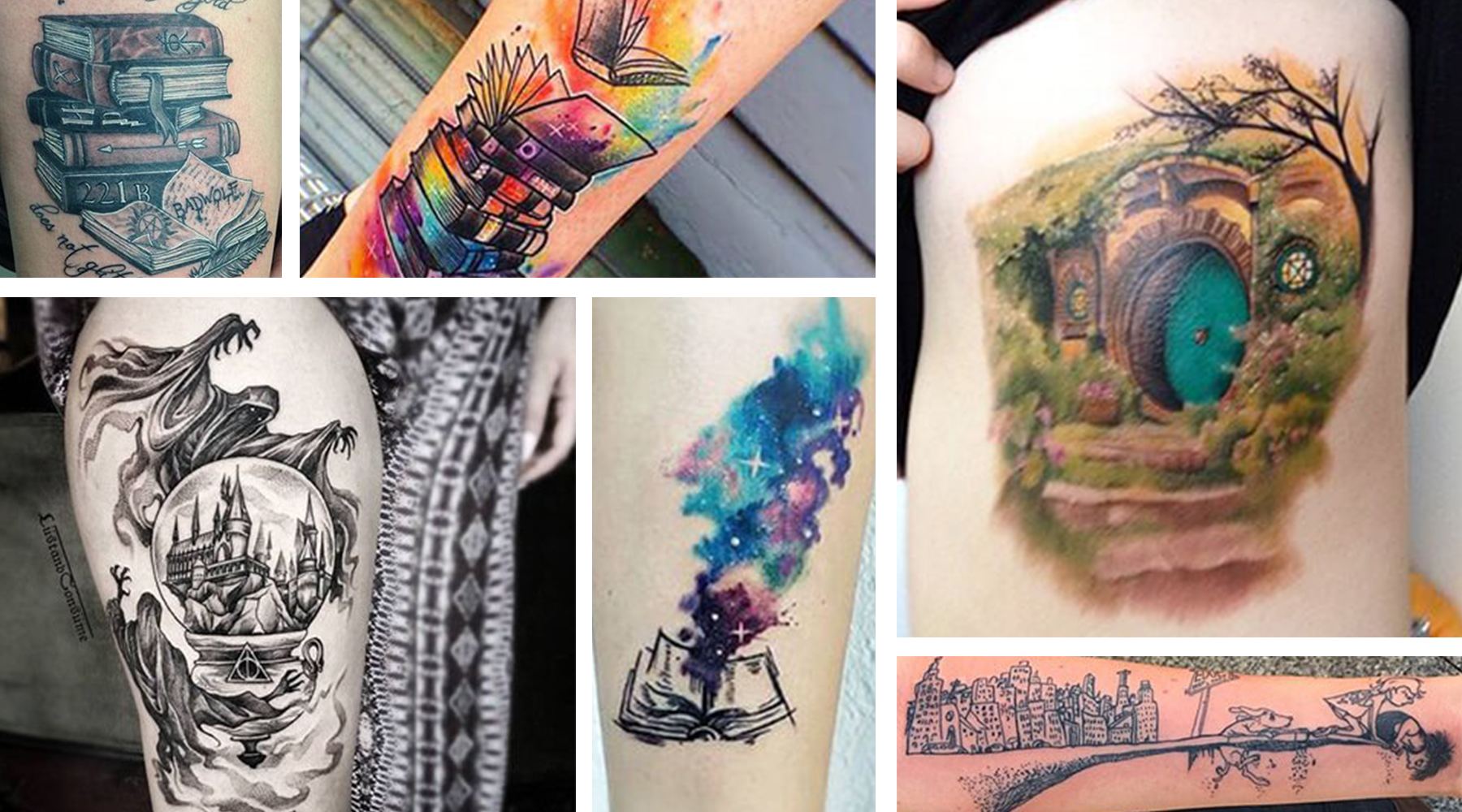 Book worms, today is your day! It's National Book Lover's day, so we found seven of the best tattoos celebrating authors and novels. Believe it or not, there are books out there aside from Harry Potte...