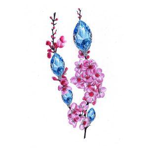 Cherry Blossom Tattoo Idea