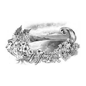 Coastline Tattoo Art