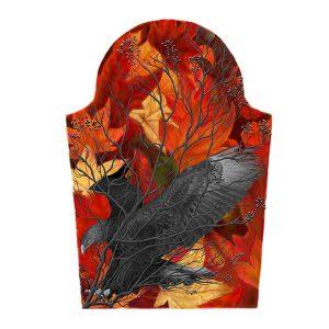 Eagle Leaves Tattoo Design