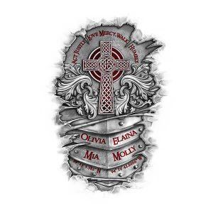 Family Crest Tattoo Designs