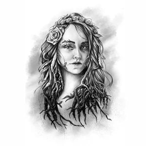 Nature Woman Tattoo Art