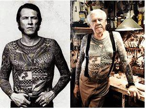 Lyle Tuttle Full Body Tattoos