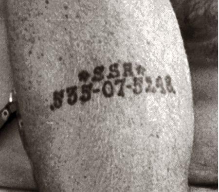 Social Security Tattoo