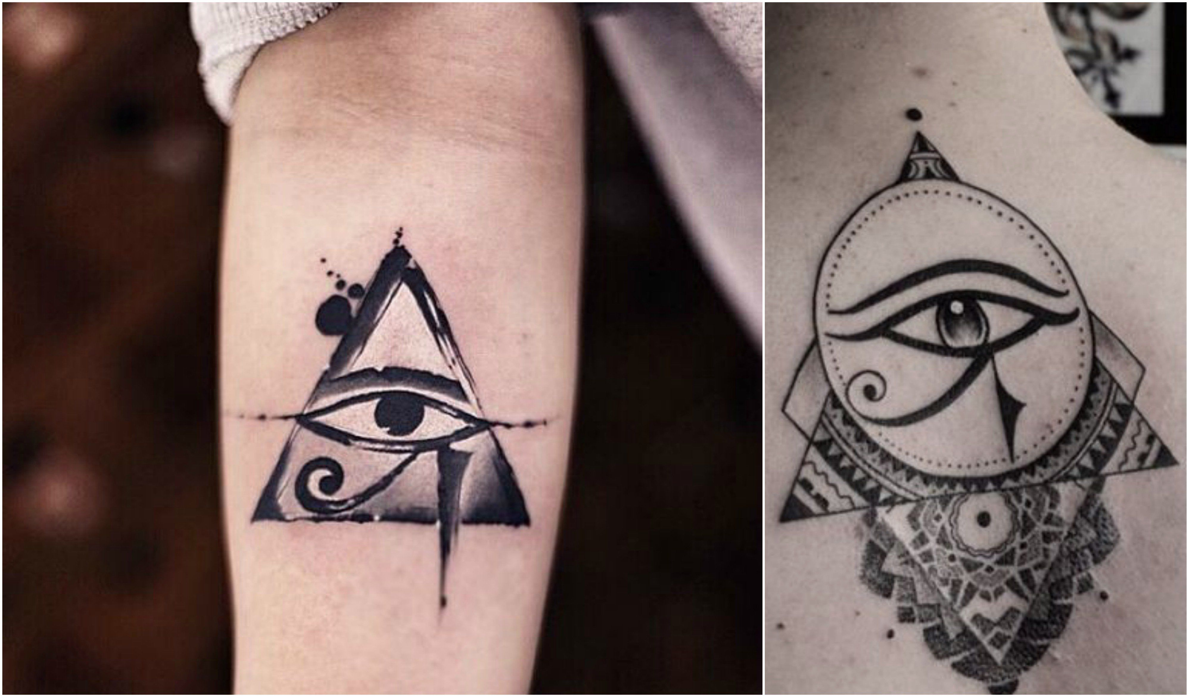 "They say that ""the eyes are the window to the soul,"" so it's no surprise that eye-themed tattoos are so popular. Eye symbols appear in a variety of forms, throughout different cultures and stories. Be..."