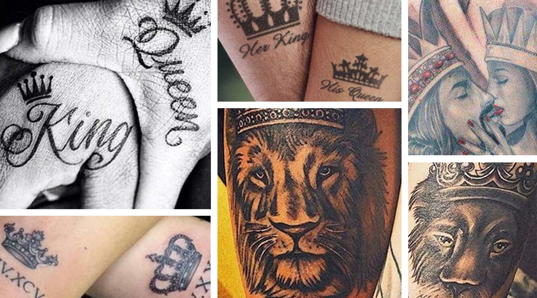King and queen tattoos are a popular way for couples to showcase their love, but these tattoos aren't strictly for people in relationships. Many women sport queen tattoos to symbolize their independen...