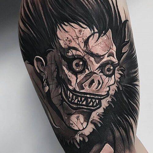 Tattoo sleeve note death 40 Best