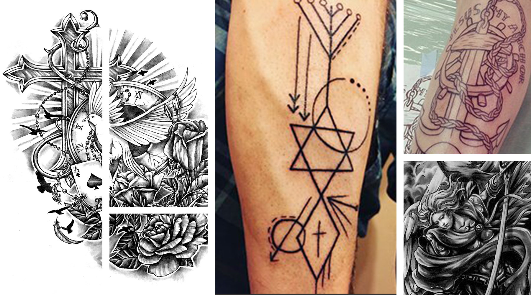 Some of the earliest tattoos in history were rooted in spiritual philosophies. In fact, many important spiritual or philosophical tattoo designs predated organized religion. Once religion became wides...