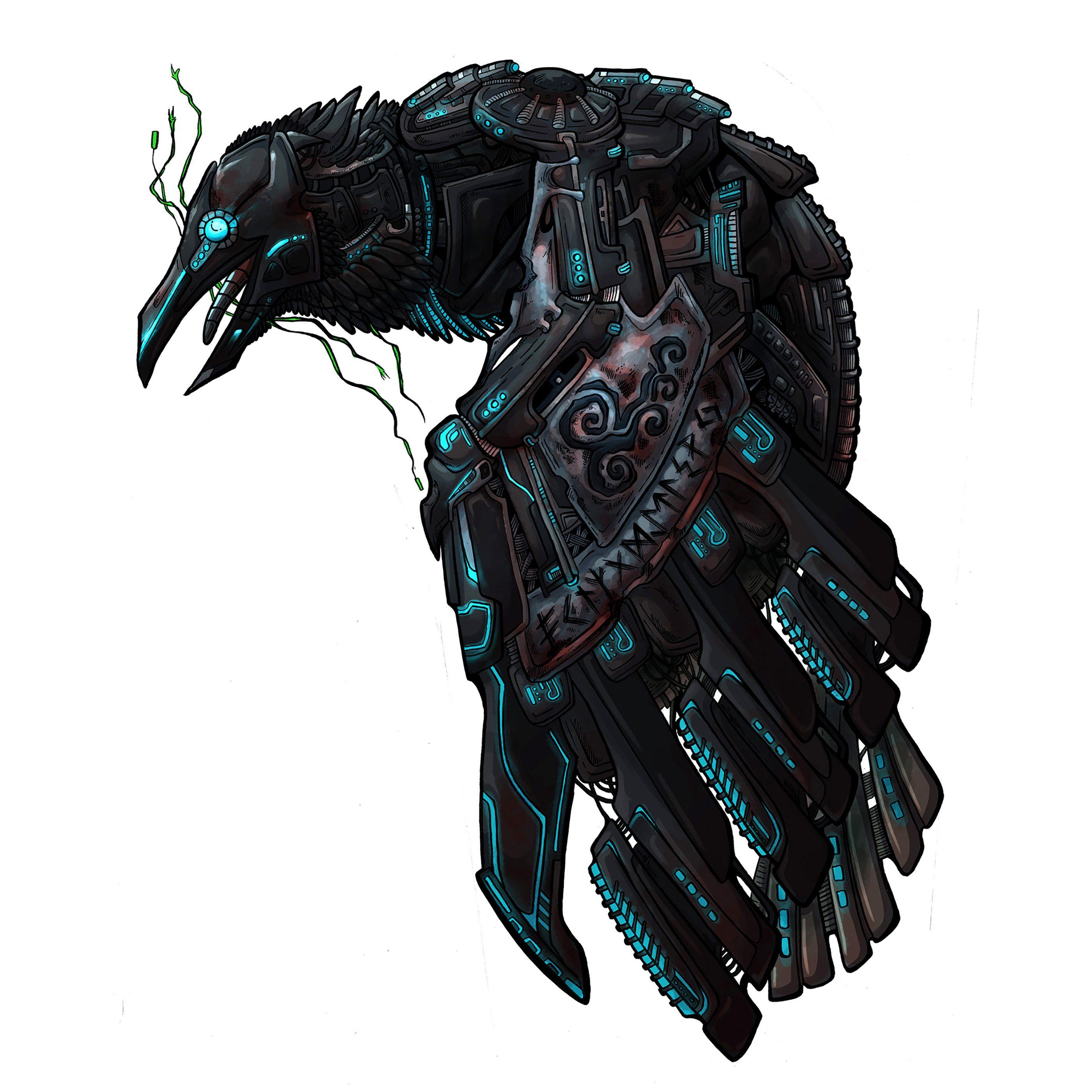 robotic-raven