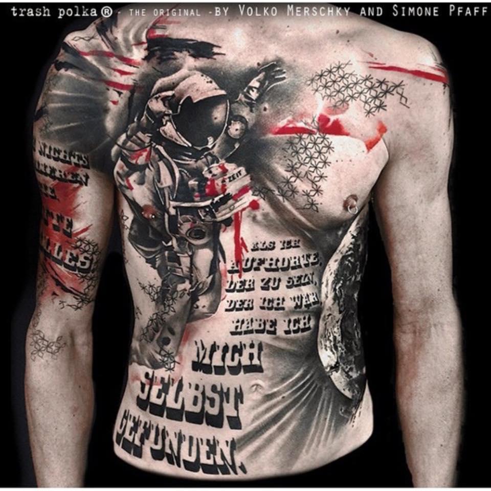 How To Design Trash Polka Tattoos Custom Tattoo Design