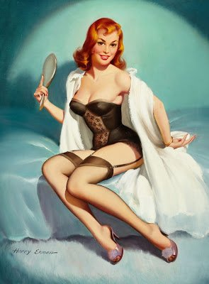 Classic Pinup Girl
