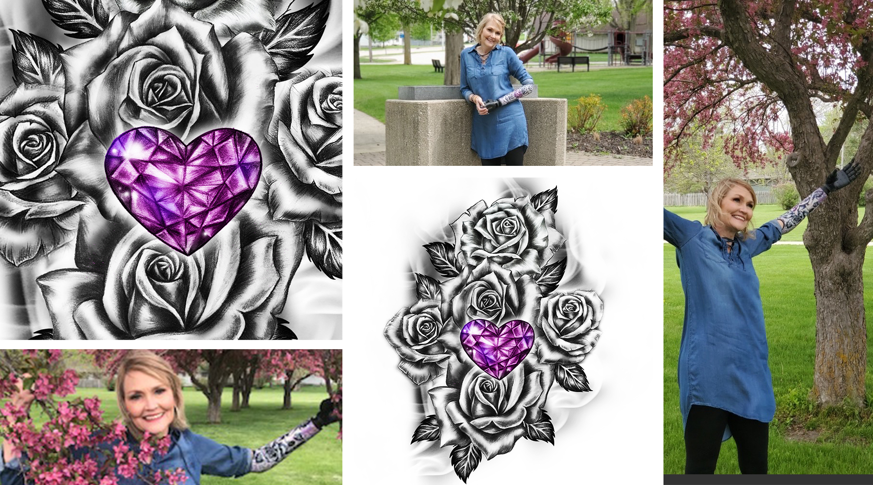 You want a unique tattoo, but don't know how to get the right design. What do you do? For Debbie, she contacted Custom Tattoo Design. We talked to this grandmother of 4 (18 if you include her husband'...
