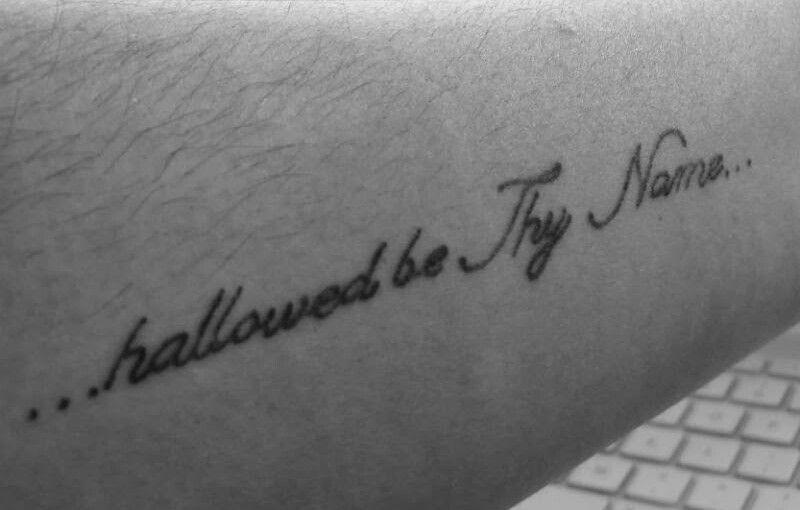 Aquilinie Two Font Script Tattoo