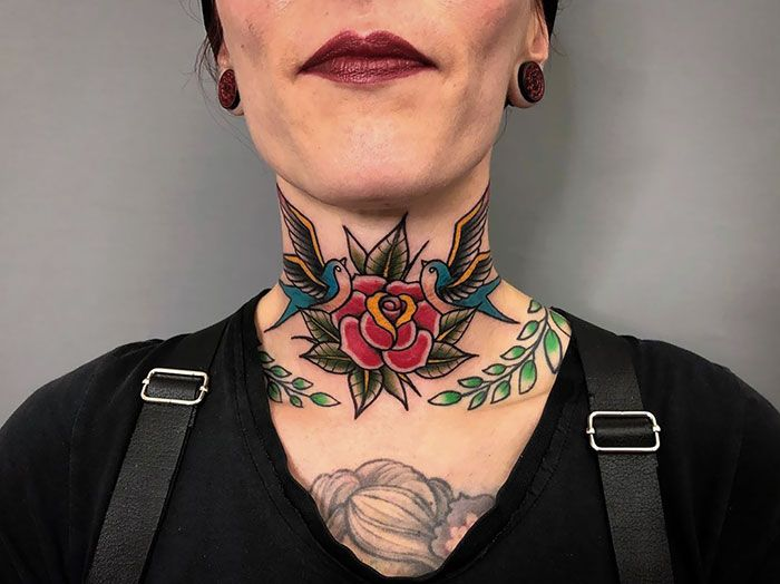 Neck tattoos are not for the thin-skinned. They are painful and difficult to hide. But the neck is an amazing spot for ink you're proud to show.
