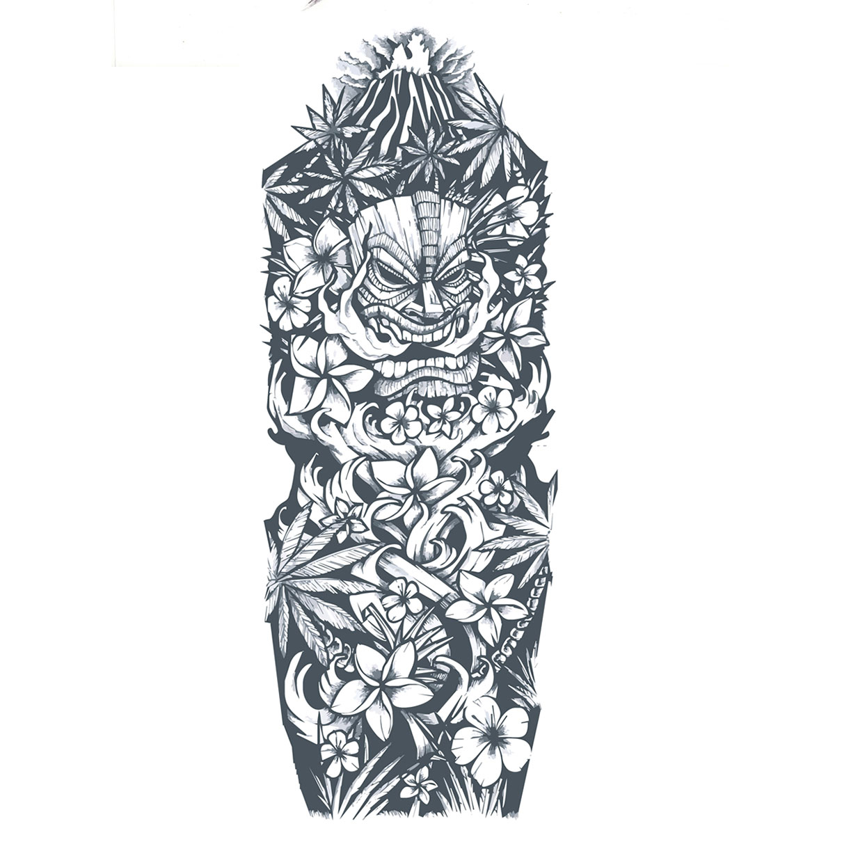 Tattoo Sleeve Stencils: Start Your Tattoo Design