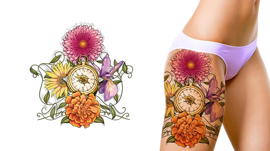Design Sleeve Tattoo Free