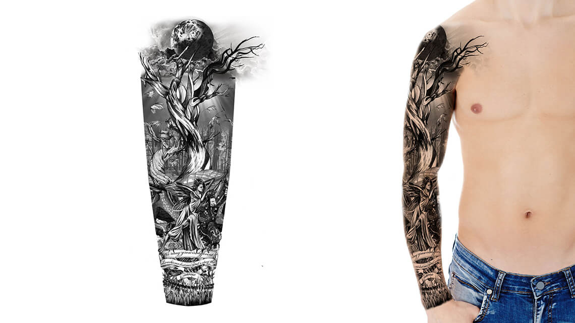 Help Designing Sleeve Tattoo