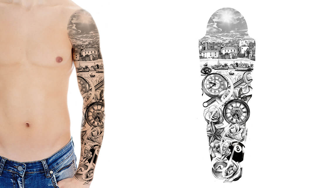 How to Select a Tattoo Sleeve Design | Custom Tattoo Design