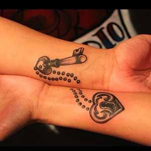 Lock and Key Tattoo Designs