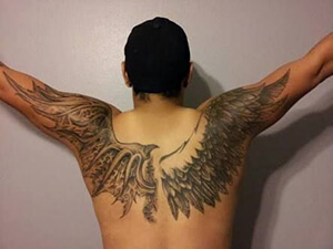 Wings tattoo meanings custom tattoo design demon angel wings tattoo design photo pinterest urmus Gallery