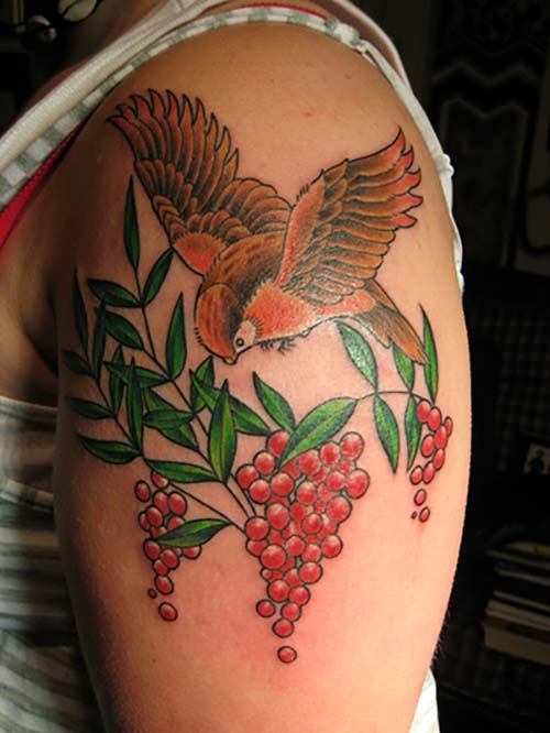 Bird Tattoo Meanings Custom Tattoo Design