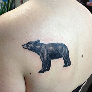 bear tattoo meanings custom tattoo design. Black Bedroom Furniture Sets. Home Design Ideas
