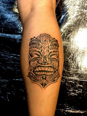 Hawaiian tattoo meanings custom tattoo design for Polynesian tiki tattoo