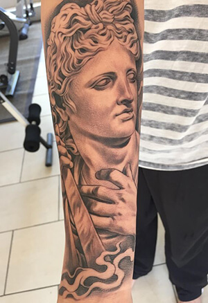 Ancient Greek Tattoo Meanings Custom Tattoo Design