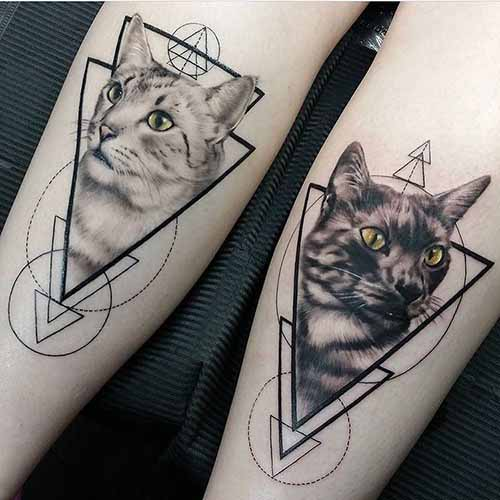 cat tattoo meanings custom tattoo design. Black Bedroom Furniture Sets. Home Design Ideas