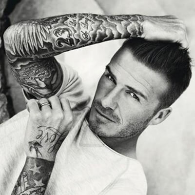 David Beckham Tattoo Sleeves