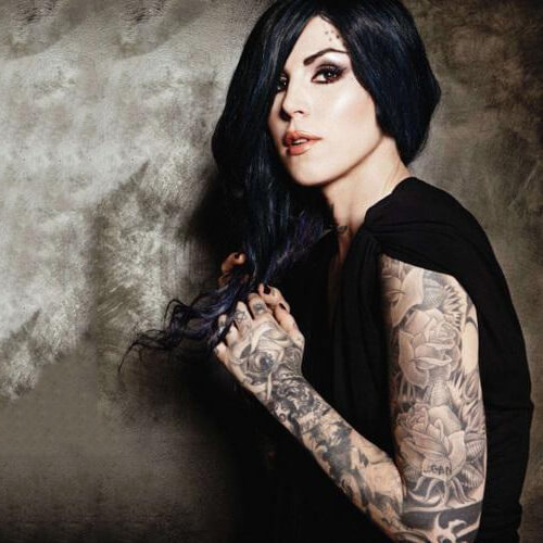 Kat Von D Sleeve Tattoo Designs