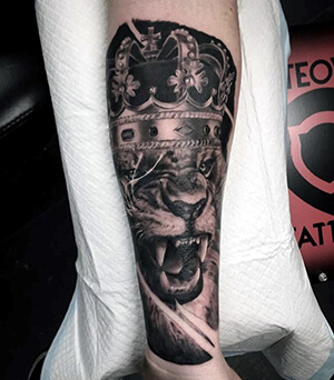 Lion Tattoo Meanings Custom Tattoo Design
