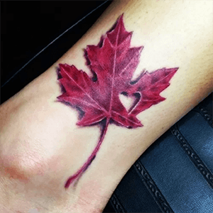 Canadian tattoo meanings custom tattoo design for Canadian leaf tattoo designs