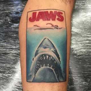 f637e73ad55ca 7 Shark Tattoos That Will Leave Your