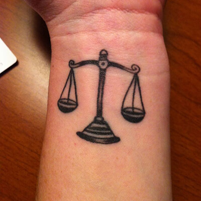 Celebrating The Return Of Suits With Law Themed Tattoos Custom