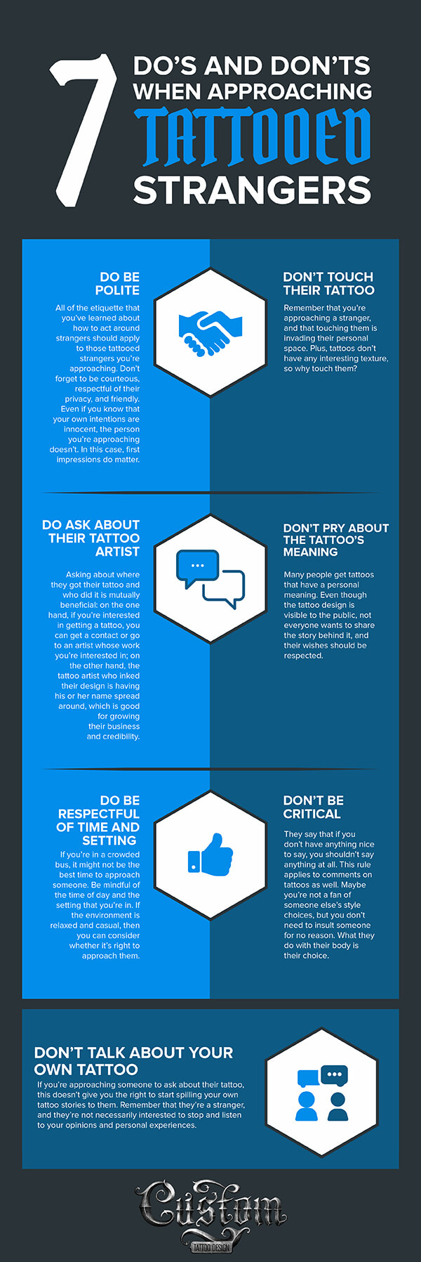 Do's and Don'ts Infographic