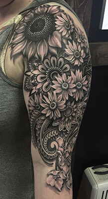 7 Black And Grey Tattoo Sleeves Youll Love Custom Tattoo Design