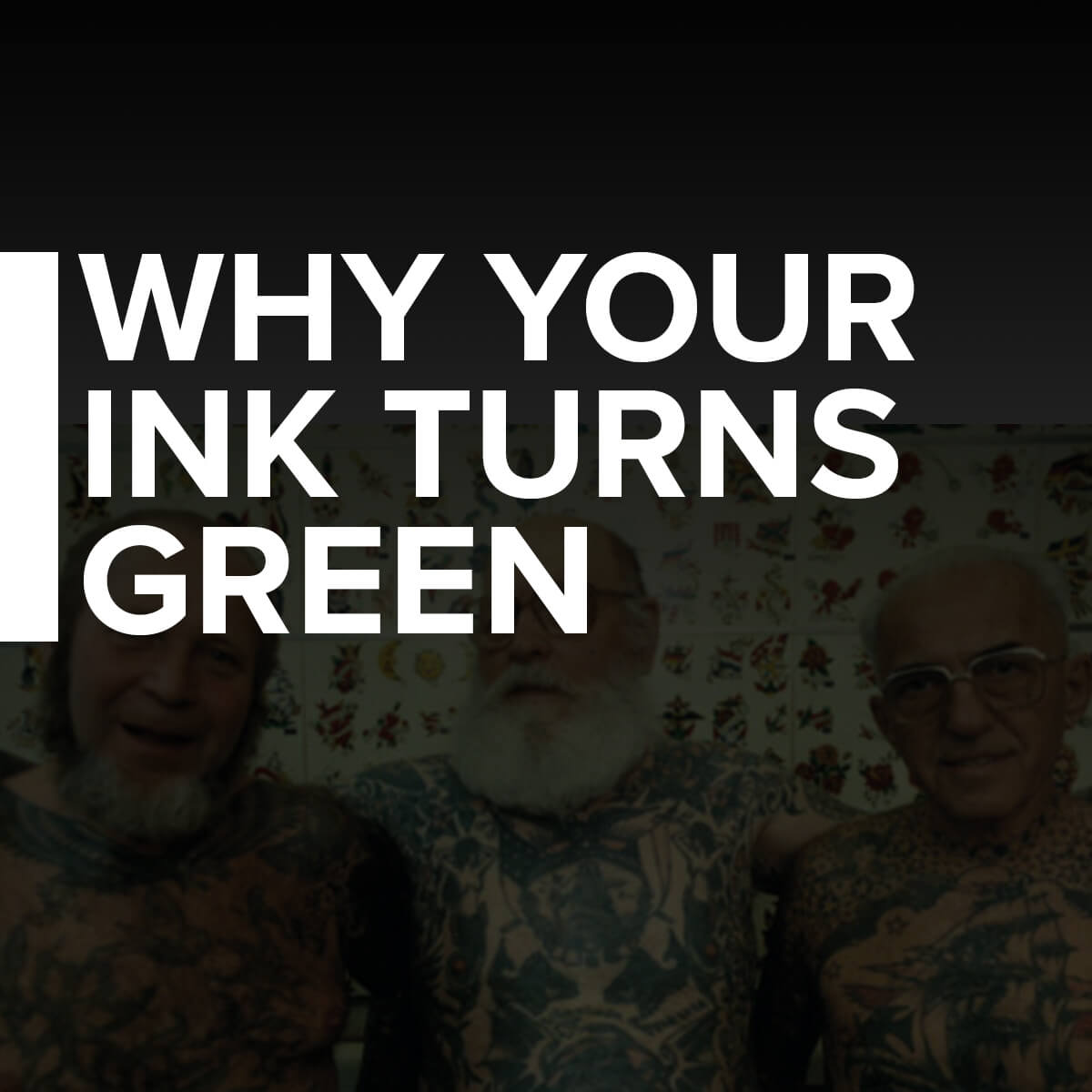 Why Tattoo Ink Turns Green Over Time Custom Tattoo Design