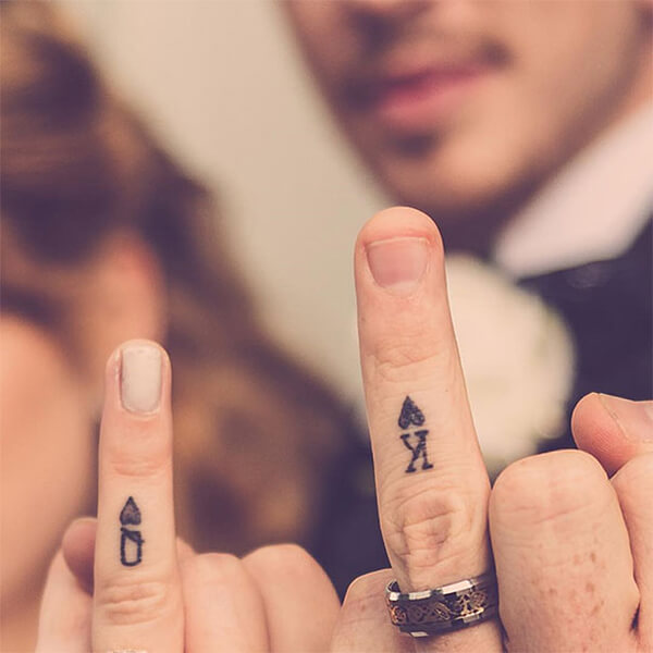 Tattoo Wedding Rings A Bad Ass Way To Express Your Love Custom