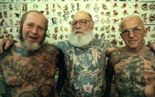 Tattoos On Bad Ass Older Gentlemen
