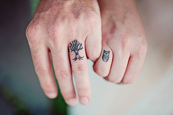 Tattoo Wedding Rings: A Bad Ass Way to Express Your Love | Custom ...