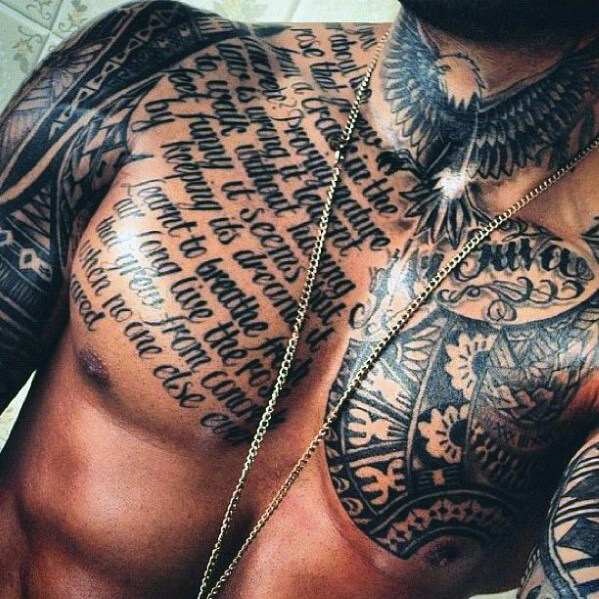 Tattoo Ideas Chest: Most Popular Chest Tattoos For Men