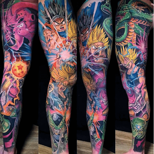 54b5fc76a5909 Anime Tattoos: All You've Ever Wanted To Know | Custom Tattoo Design