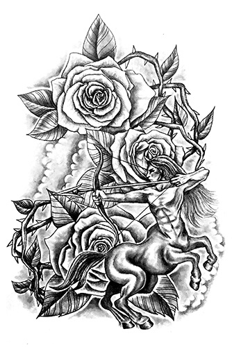 Whatever Your Zodiac Sign Is These Symbols Make For Great Tattoo Ideas Using The Classic Elements And Traditional Figures Assigned To Each Constellation
