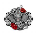 Elephant Tattoo Design Idea