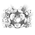 Love of Music Tattoo Designs