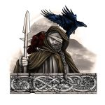 Odin Tattoo Design with Ravens