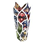 Superhero Full Sleeve Tattoo Design